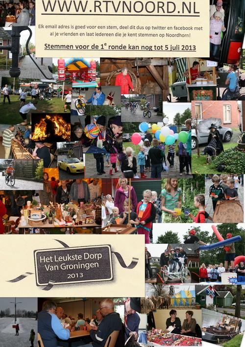 Stem op Noordhorn voor 5 juli: www.rtvnoord.nl