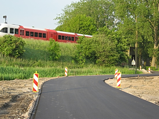 En de Arrivatreinen blijven op tijd rijden tussen Groningen en Leeuwarden. Hoe dat zal gaan wanneer de spoorbrug wordt vervangen?