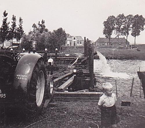 LJL Leegmalen sluis re Gaarkeuken 1950 verkl