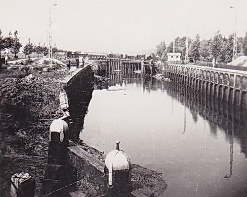 LJL Sluis Gaarkeuken 1950 verkl