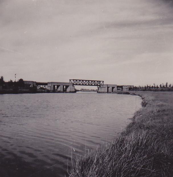 LJL Spoorbrug  1949