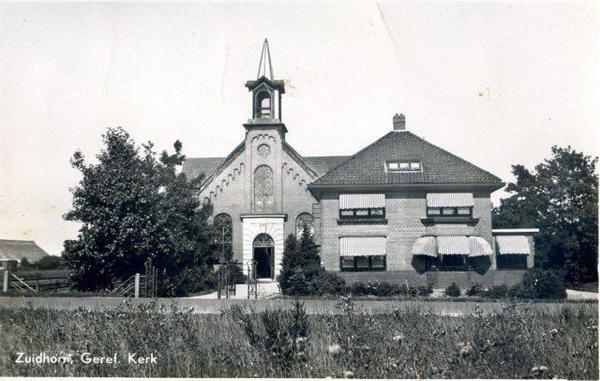 Gerben Geref,Kerk Zhorn web
